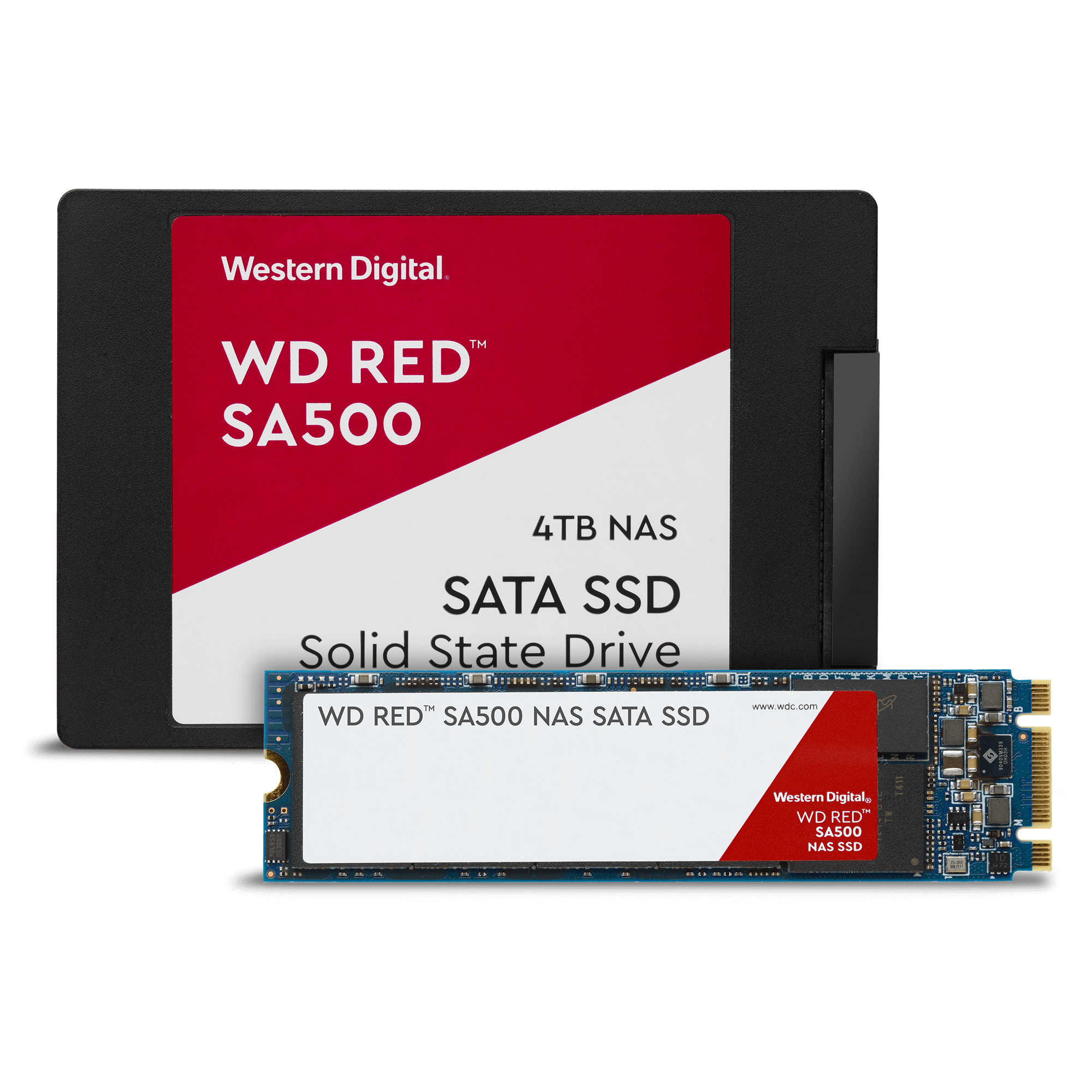 New WD RED SSDs have arrived