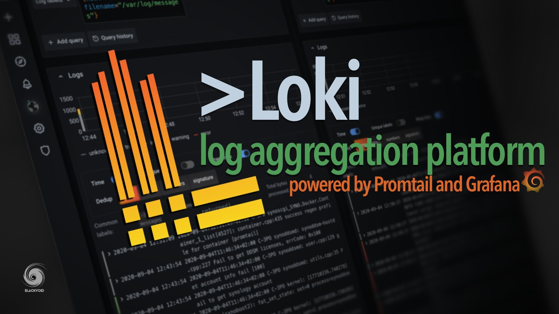 Loki - log aggregation platform from the creators of Grafana