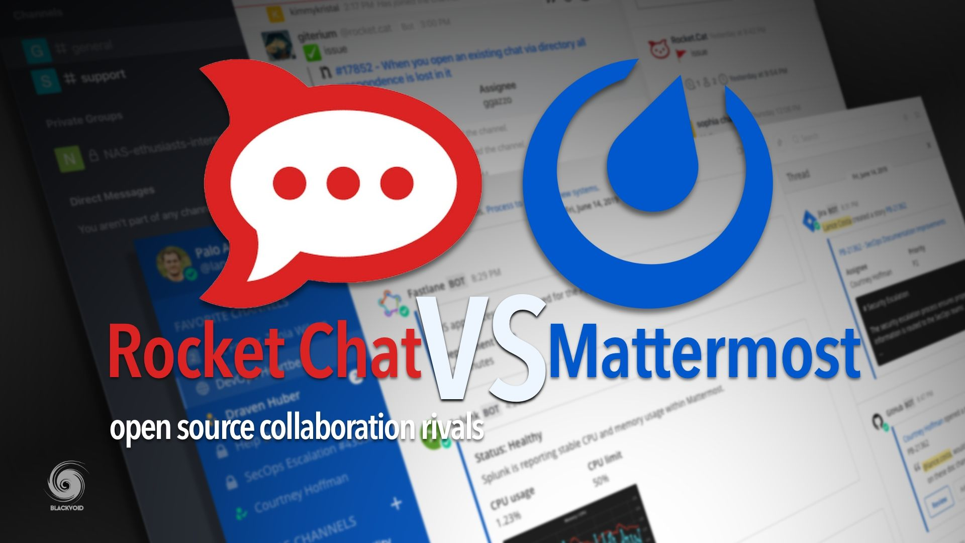 Rocket.Chat vs. Mattermost, open-source rivals