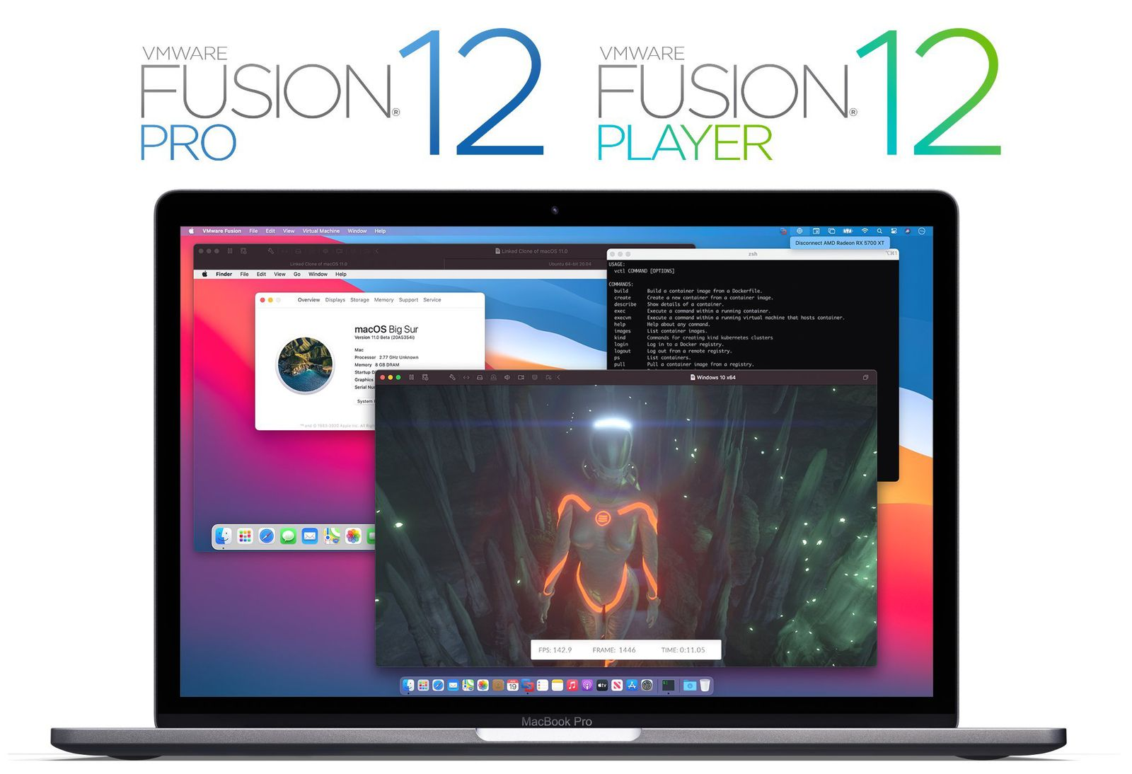 VMWare Fusion 12 for Mac is here