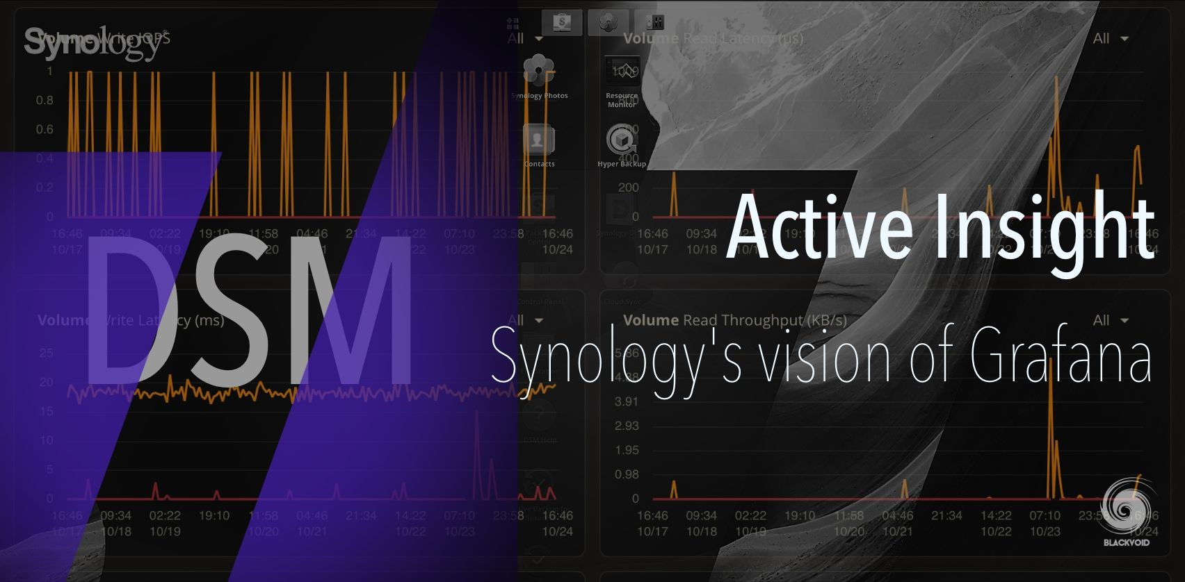 DSM 7 - Active Insight - all your NAS metrics in one place, and more