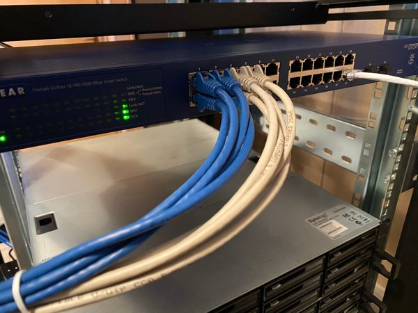 Let there be CAT6 LAN