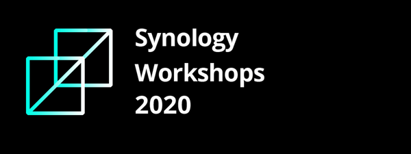 Synology US workshops are now webcasts