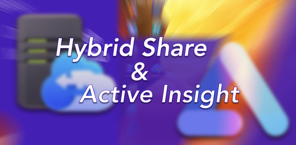 Hybrid Share & Active Insight - Evolution of DSM 7