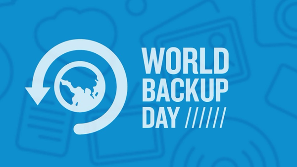 World Backup Day, March 31st
