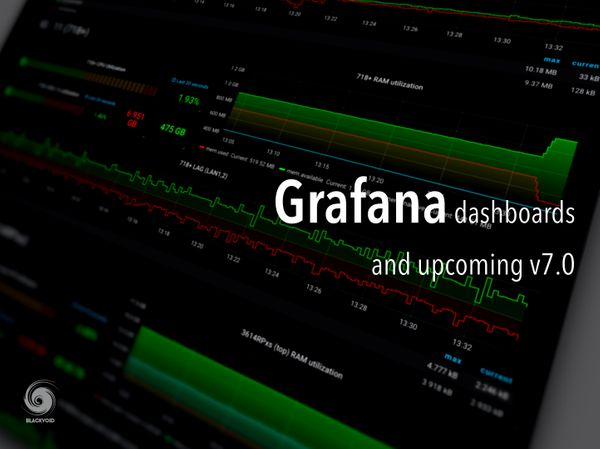 Grafana dashboards and upcoming v7.0
