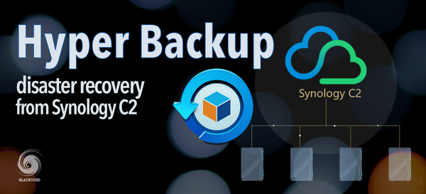Hyper Backup disaster recovery method via C2