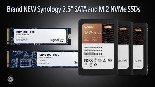 "NEW Synology 2.5"" SATA and M.2 NVMe SSDs are here"