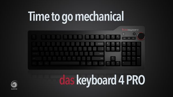Time to go mechanical - dasKeyboard 4 PRO