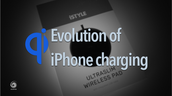 Evolution of iPhone charging