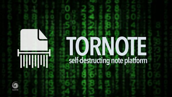 Tornote - self-destructing note platform