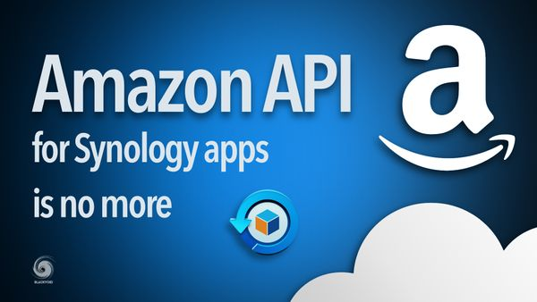 Amazon to terminate API support for Synology apps