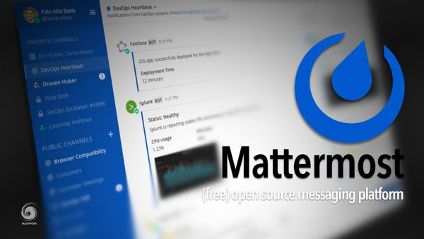 Mattermost - (free) open-source messaging platform