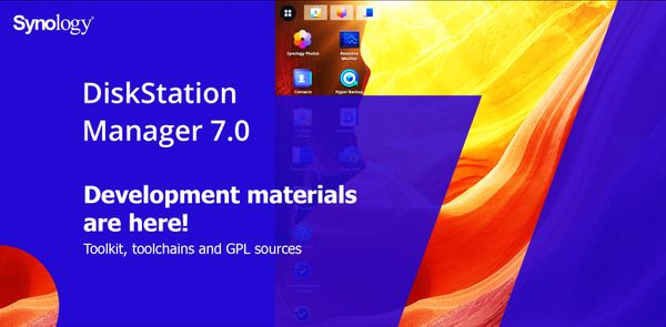 DSM 7 - development materials are here!