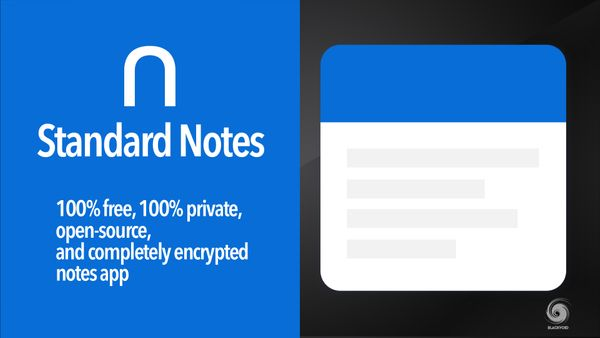 Standard Notes - Docker self-hosted alternative for all your note needs