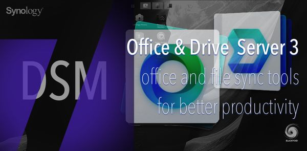 DSM 7 - Office and Drive Server 3