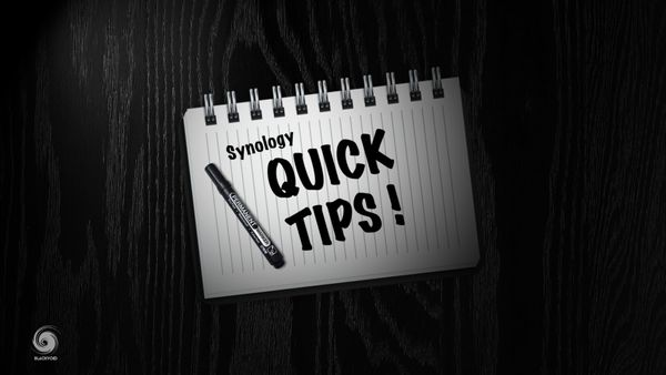 Synology quick tips!